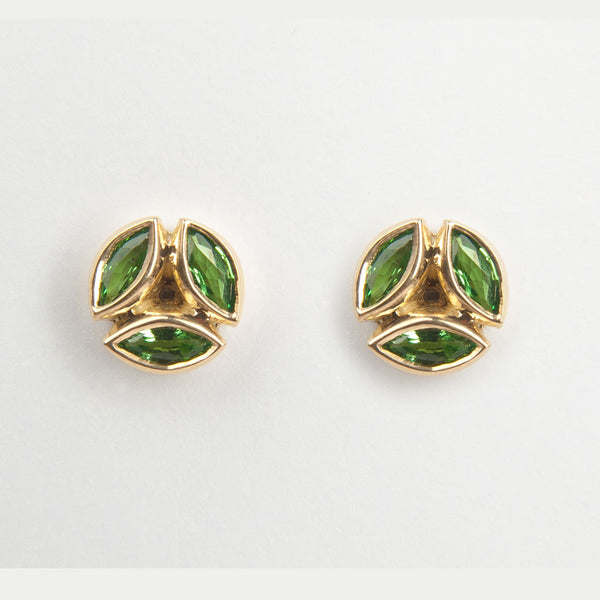 Hazel Tsavorite Earrings