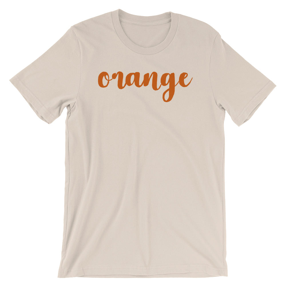 Orange You Glad I Didn't Say Banana Unisex T-Shirt