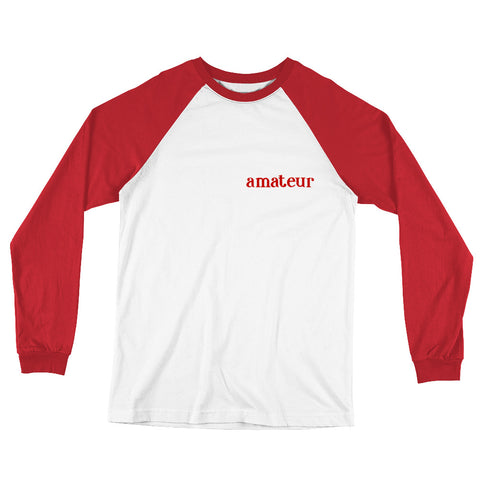 On the Bench Long Sleeve Baseball T