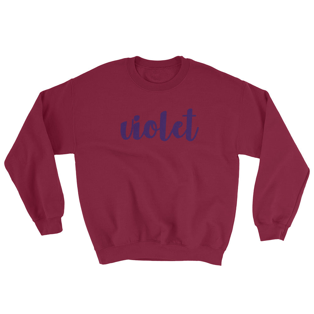 Shrinking Violet Sweatshirt