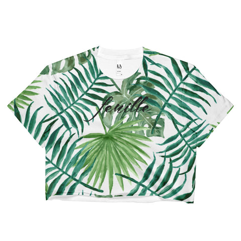 Leaf Me Alone Crop Top