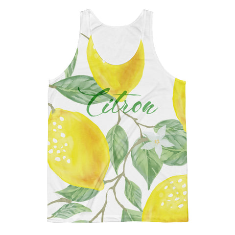 With A Splash Unisex Tank Top