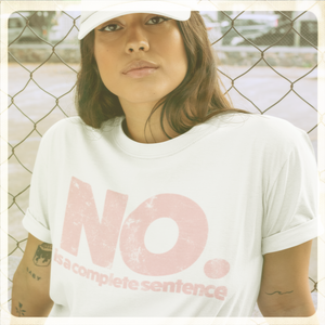 No. Is a Complete Sentence Unisex T-Shirt