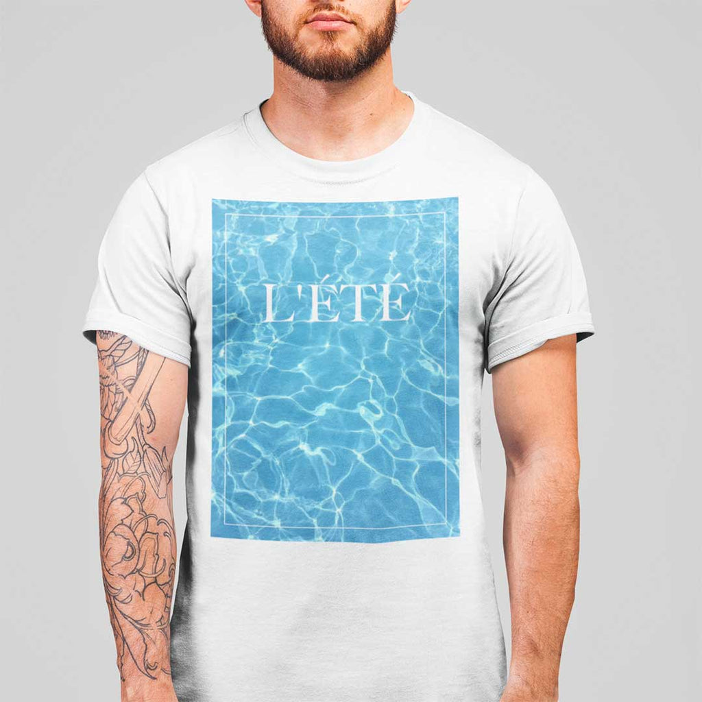 L'été fête (Summer Party) unisex T-shirt