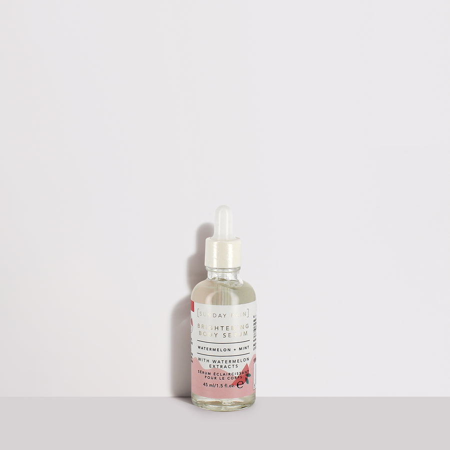 Watermelon + Mint Brightening Body Serum