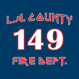 Los Angeles County Fire Station 149 NAVY/BLACK
