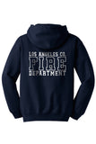 Los Angeles County Fire Department Duty Hooded Sweatshirt 1/C CTY Box Logo