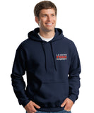 Los Angeles County Fire Department Duty Hooded Sweatshirt Box Logo