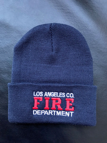 Los Angeles County Fire Department Beanie