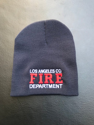 Los Angeles County Fire Department Skull Cap Beanie
