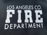 Los Angeles County Fire Department Box 1/C CTY Women's Hooded Zipper Sweatshirt