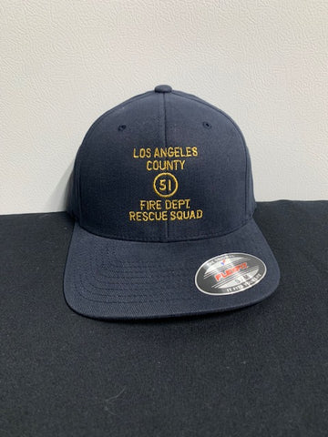 Emergency 51 Rescue Squad Hat Navy