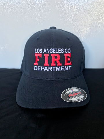 Los Angeles County Fire Department Official Red FIRE Hat