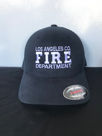 Los Angeles County Fire Department Official white FIRE Hat