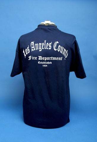 Los Angeles County Fire Department Old English
