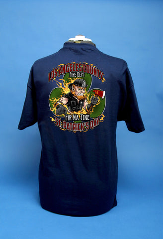 Los Angeles County Fire Department St. Patricks Day T - Shirt