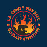 Los Angeles County Fire Department Wildland Operations T-Shirt
