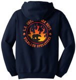 Los Angeles County Fire Dept. Wildland Operations Hooded Sweatshirt