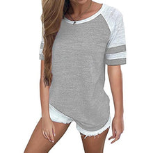 Ladies Summer Shirts Casual Short Sleeve
