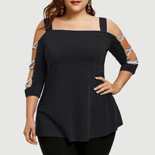 Women  Summer Sexy Off Shoulder  Causal Loose Tee Tops  Plus Size