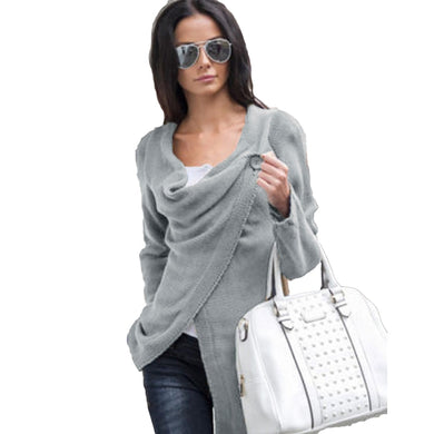 2019 Women Knitwear Plus Size  Long Roll Up Sleeve  Sweaters 3 XL 4 XL 5 L