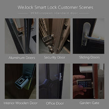 We.lock L6PB Bluetooth Lock Door Smart Wireless Bluetooth Password Electronic Lock Cylinder with Door Knob Handle