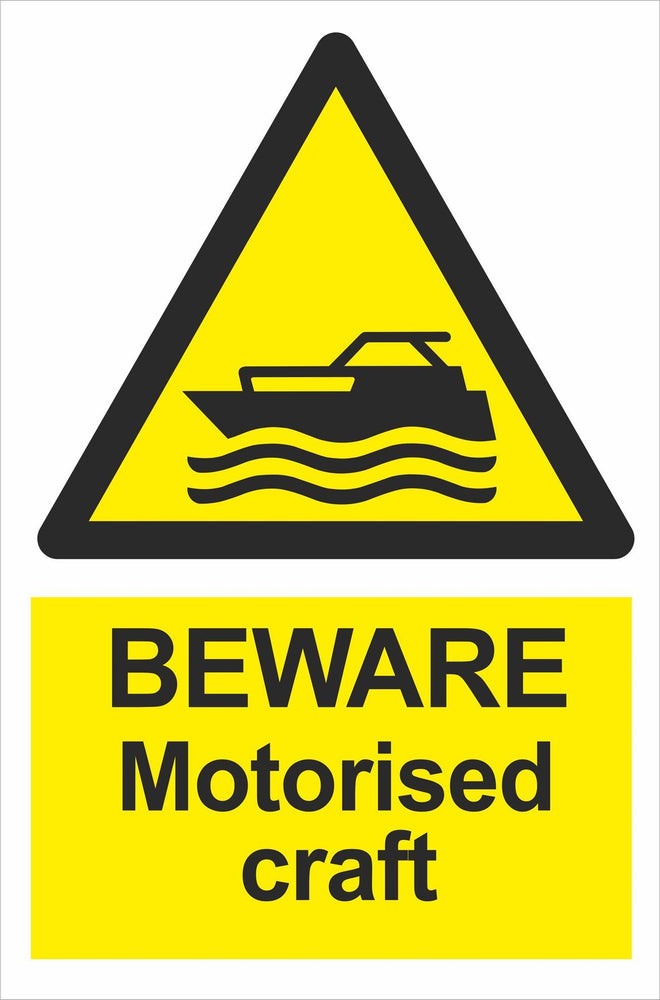BEWARE Motorised craft