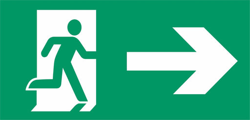Emergency Escape - Running Man Right - Arrow Right