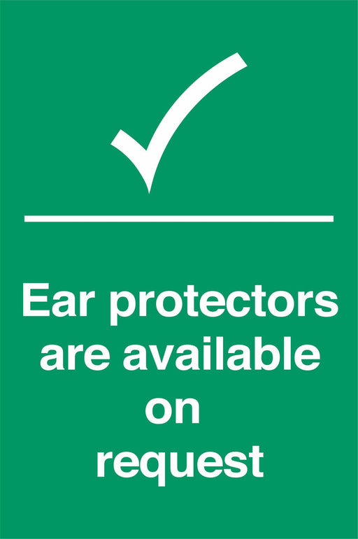 Ear protectors area available on request