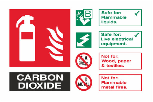 CARBON DIOXIDE - Fire Extinguisher