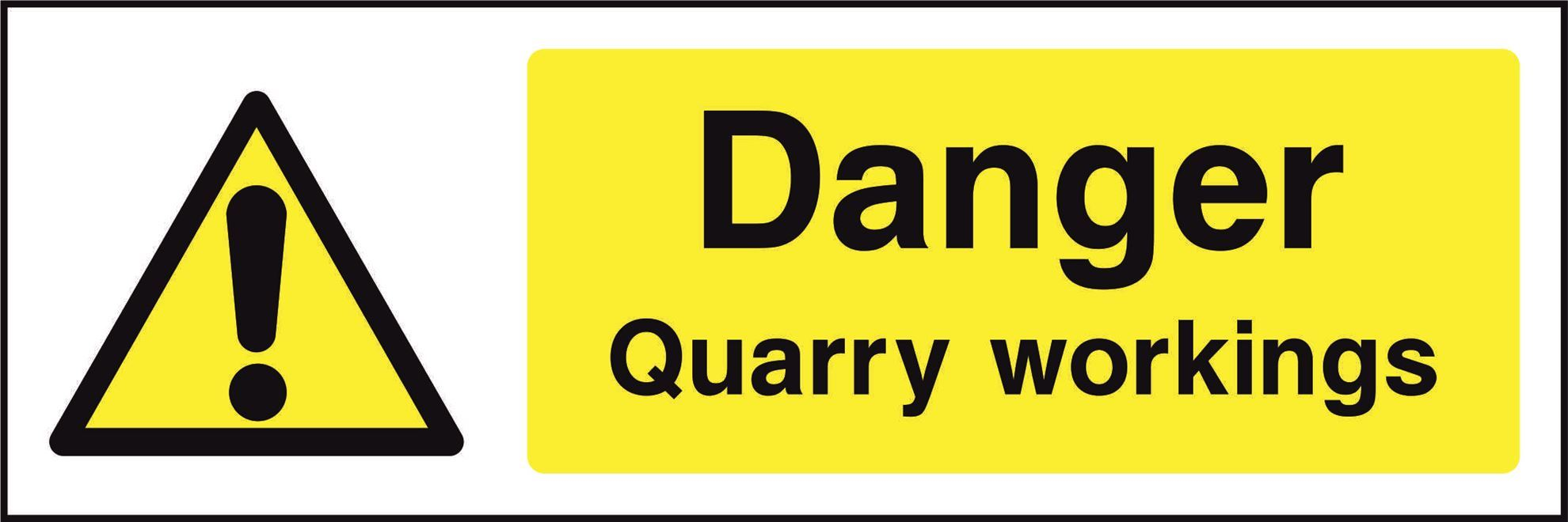 Danger Quarry workings