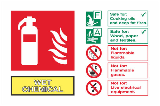 WET CHEMICAL - Fire Extinguisher