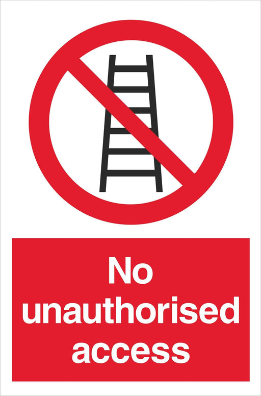 No unauthorised access