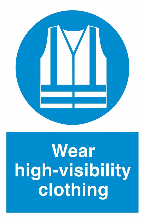 Wear high-visibility clothing