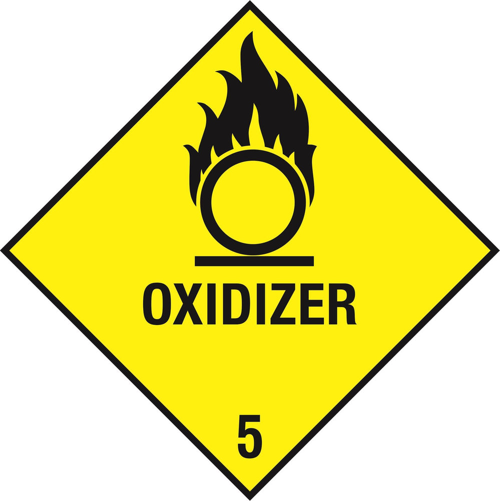 Hazardous Diamond - OXIDIZER 5