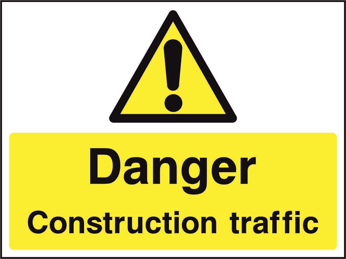 Danger Construction traffic