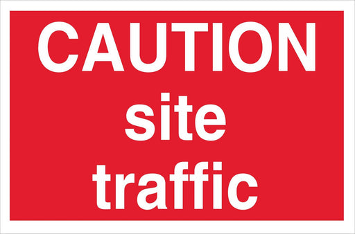 CAUTION site traffic