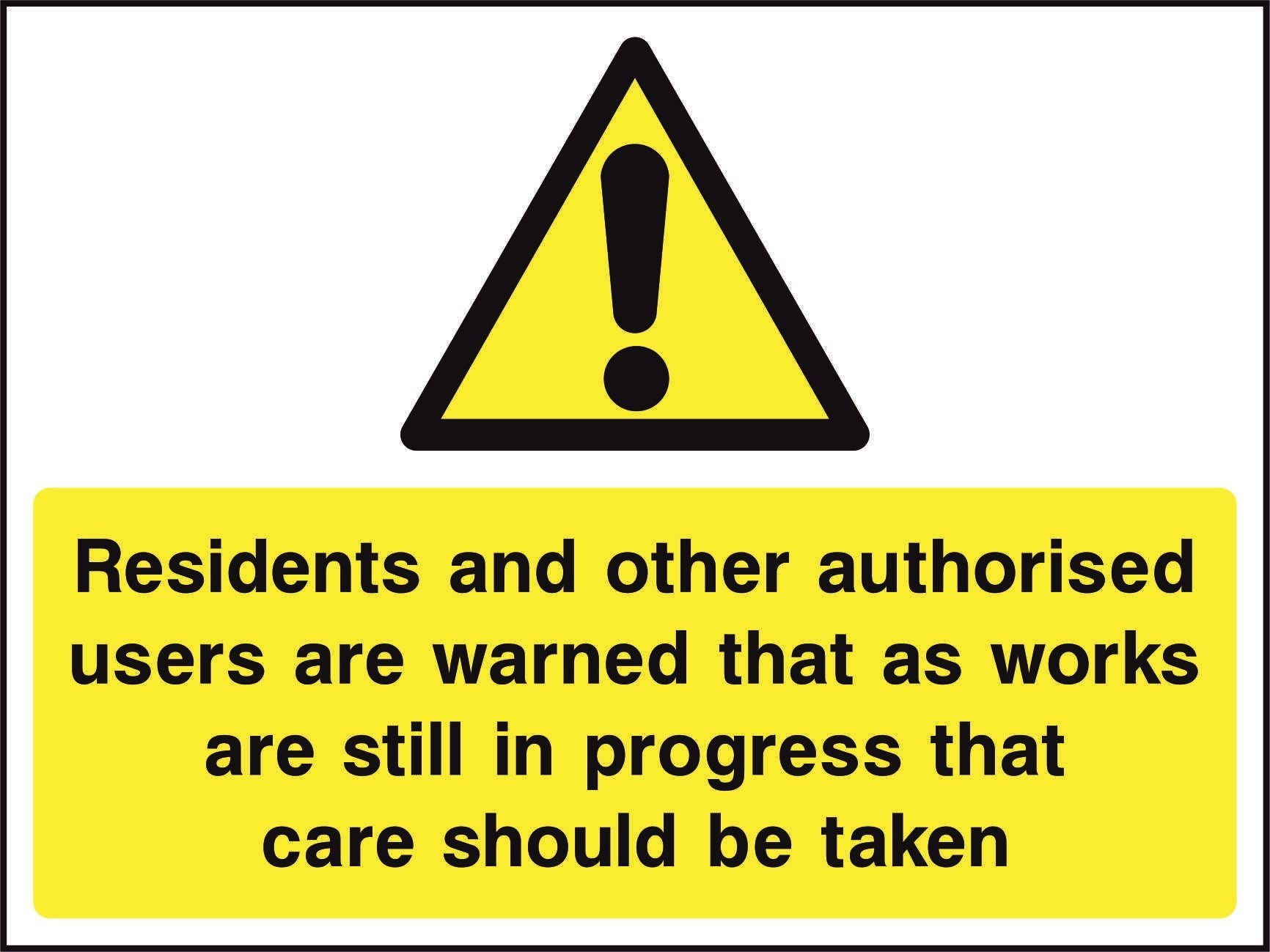Residents and other authorised…..