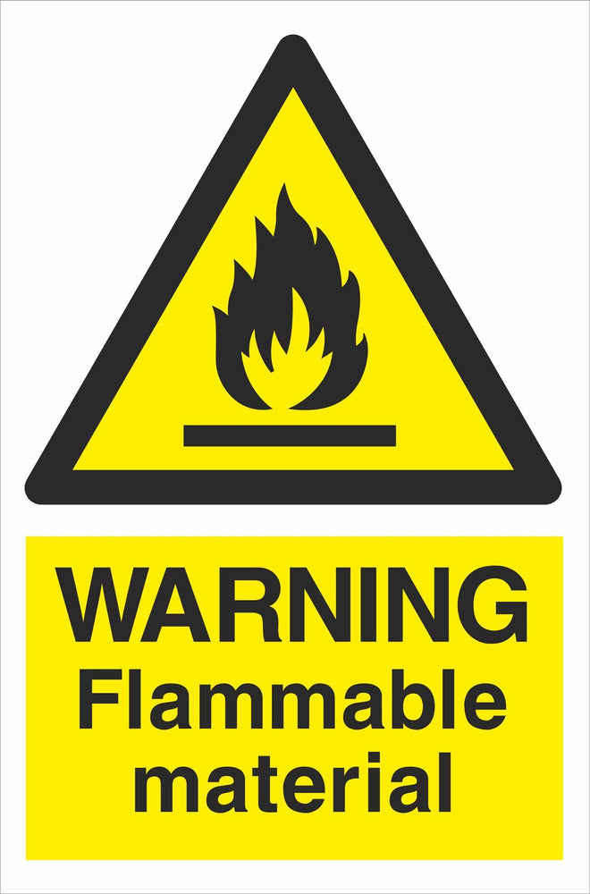 WARNING Flammable material