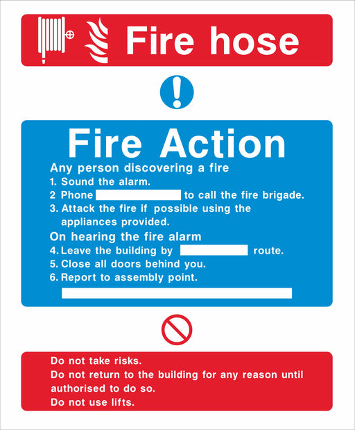 Fire Action - Fire hose