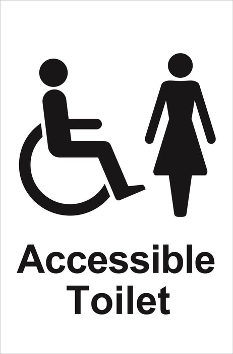 Ladies Accessible Toilet