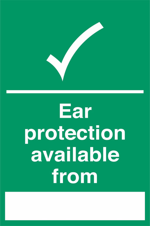 Ear protection available from ….