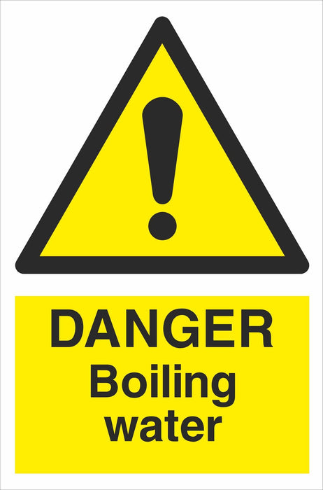 DANGER Boiling water