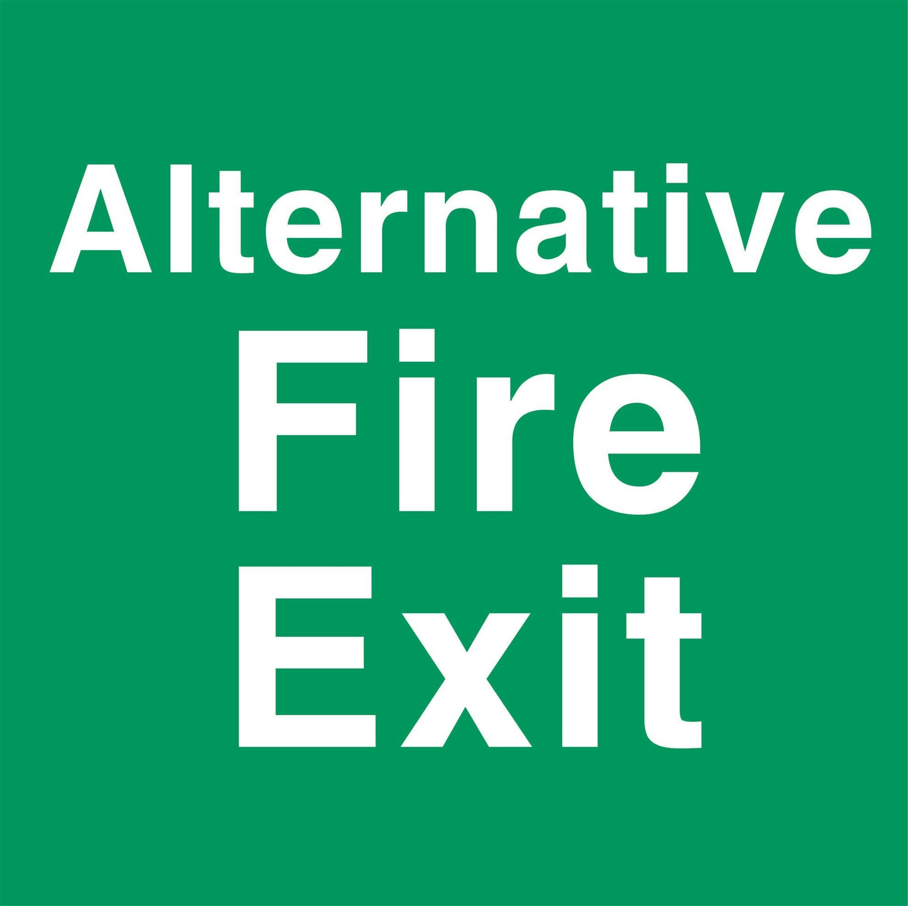 Alternative Fire Exit