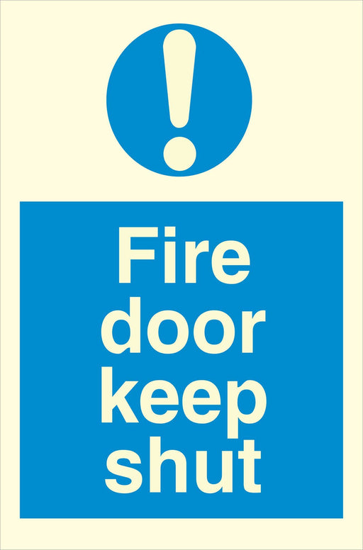 Fire koor keep shut