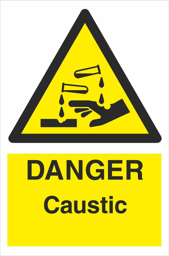 DANGER Caustic