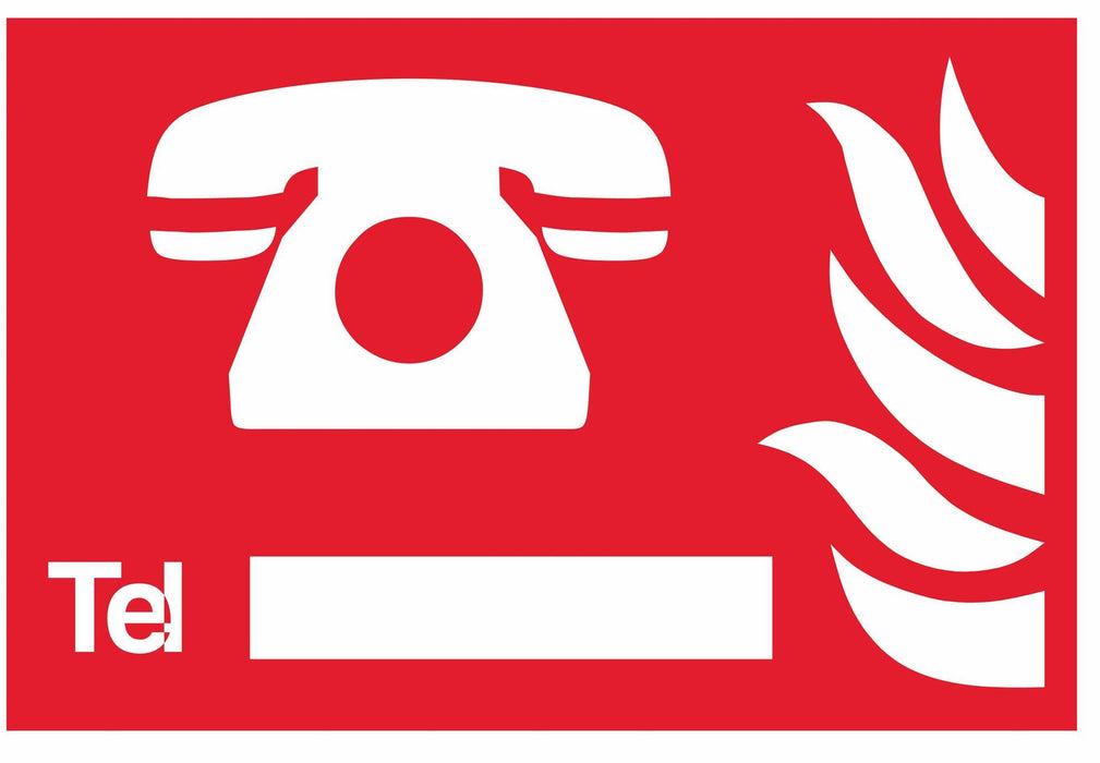 Fire Sign - Telephone symbol