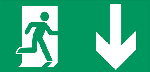 Emergency Escape - Running Man Right - Down Arrow