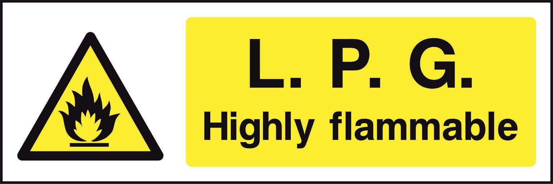 L.P.G. Highly flammable