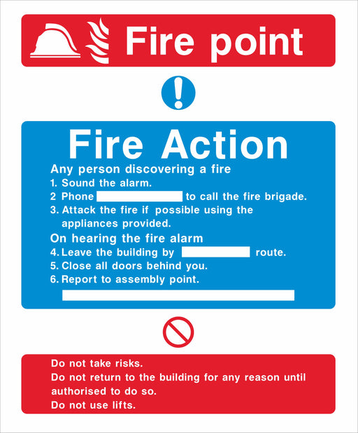 Fire Action - Fire point